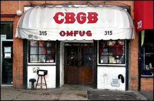 World renowned East Village club CBGB's faces closure