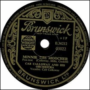 Cab Calloway Minnie The Mooche
